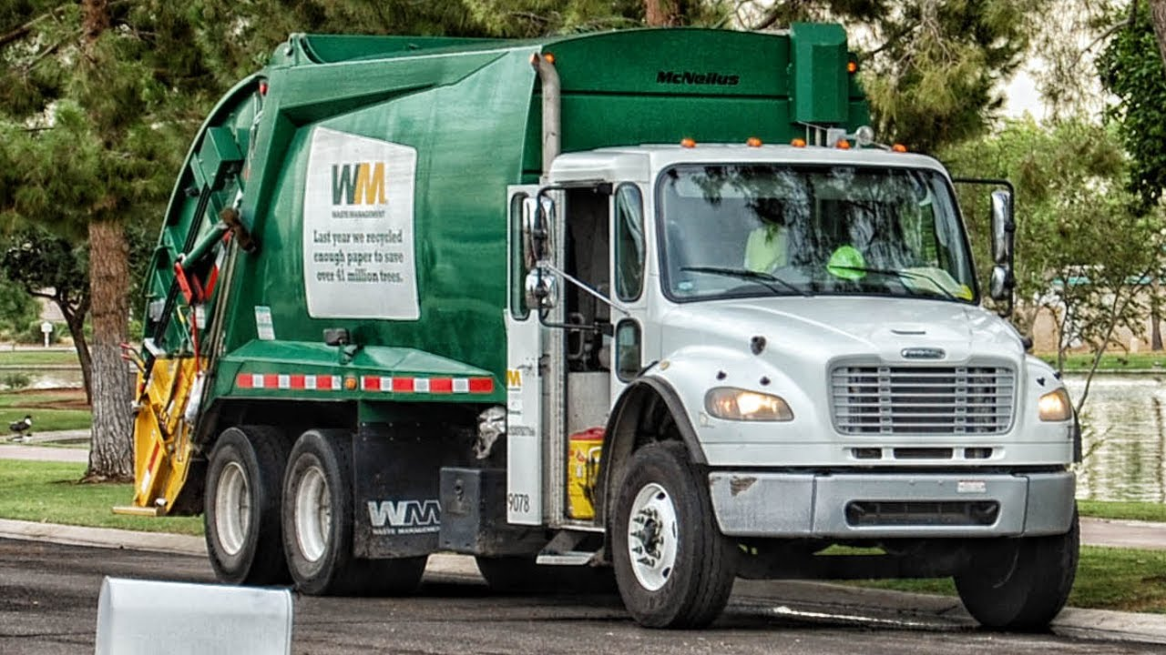 Waste Management Of Litchfield Park Youtube