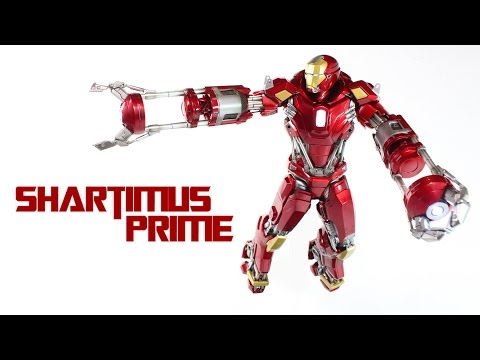 Hot Toys Red Snapper Mark XXXV 35 Iron Man 3 Movie 1:6 Scale Power Pose PPS002 Action Figure Review