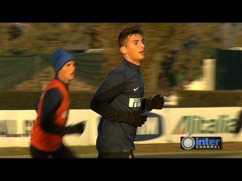 ALLENAMENTO INTER REAL AUDIO 10 12 2013