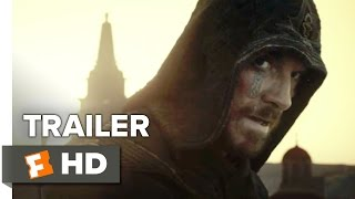 Assassin's Creed Official Trailer #1 (2016) - Michael Fassbender, Marion Cotillard Movie HD