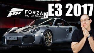 E3 2017: Experimentamos Forza 7 num simulador completo no estande da Microsoft!