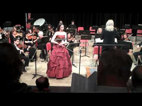 Rachyl Duffy - Hoffmeister Concerto with Lansdowne Symphony Orchestra