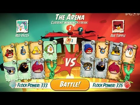 Angry Birds 2 ♥ PvP Arena Azure League - Ep21 HD