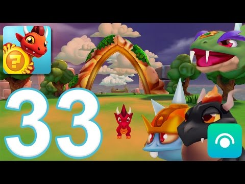 Dragon Land - Gameplay Walkthrough Part 33 - Episode 1-3: New Bosses (iOS. Android)
