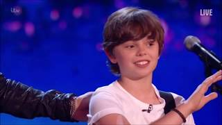 Jack Tim Loving Father Son Duo Sing Original Country Song Britain 39 S Got Talent 2018