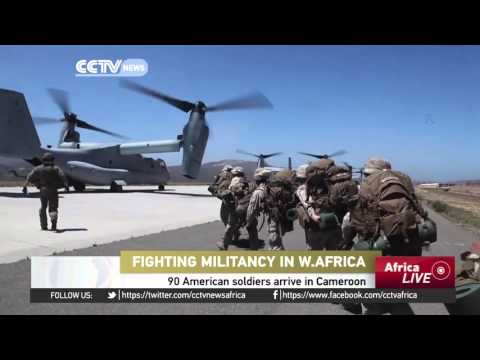US soldiers arrive in Cameroon to help fight Boko haram