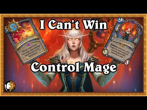 Hearthstone: I Can't Win With This Deck - Control Mage