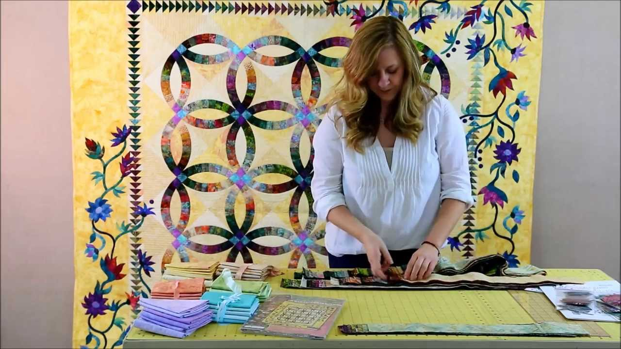 Learn How To Use The Quiltworx Bali Pops With The New