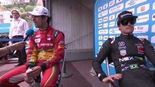 Monaco ePrix qualifying controversy - di Grassi and Piquet clash over 'blocking' incident