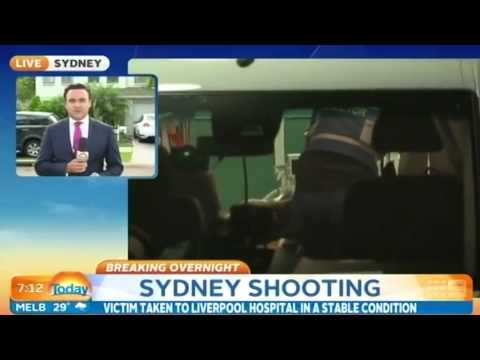 Sydney father shot four times in his own home