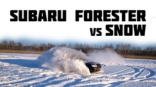 Subaru Forester По Снегу [Подборка] (2015)  - Subaru Forester vs. Snow [Compilation] (2015)