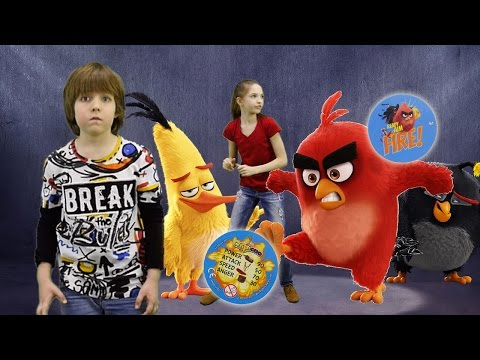 Добываем Фишки  из Круасанов Chipicao Angry Birds