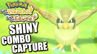 COMMENT TROUVER DES SHINY (COMBO CAPTURE) - POKÉMON LET'S GO PIKACHU & ÉVOLI