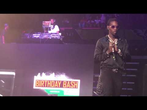 Migos & Lil Yatchy Live at Hot107.9 BirthdayBash 2017 Popup Edition Peekaboo