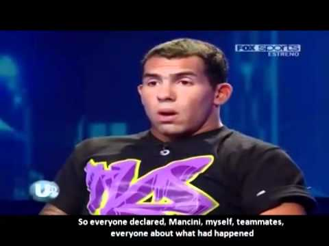 Tevez vs Mancini - Tevez Interview Argentina 13-2-2012 La Ultima Palabra [English Subtitles]