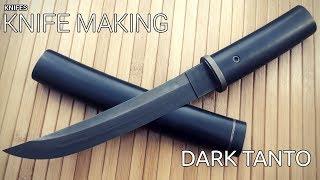 Knife Making - Dark Modern Tanto