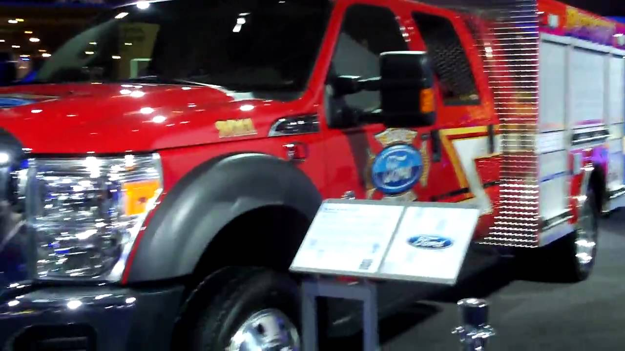 The Ford f 550 Superduty