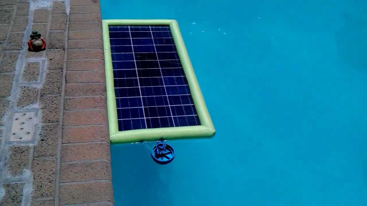 Swiming pool solar chlorinator youtube for Pool won t show chlorine