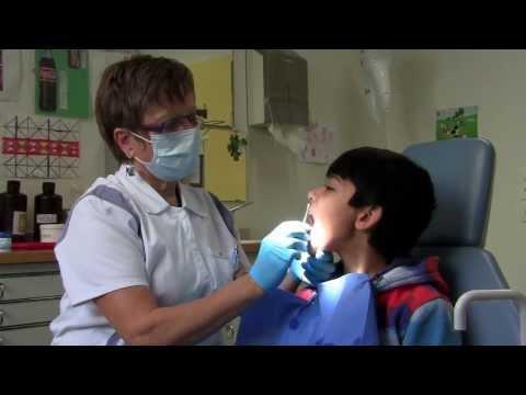Dental visit,Teeth cleaning in School Dental Clinic Part 2