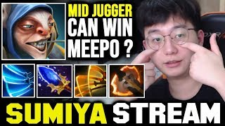 When Meepo Trying to Beat SUMIYA at mid | Sumiya Invoker Stream Moment #1370