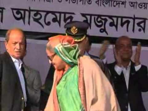 Polls in progress in Bangladesh