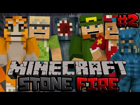 Minecraft Xbox Stonefire PvP Map 2 w Stampy Squid InTheLittleWood ChooChoo