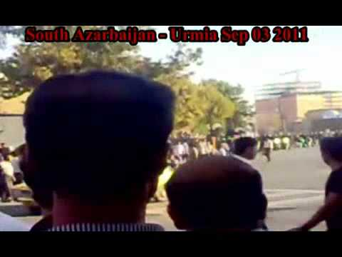 South Azarbaijan - Urmia (Sep 03 2011) Mass protests to Save Lake Urmia