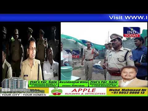 Six persons taken into custody by Pahadishareef Police