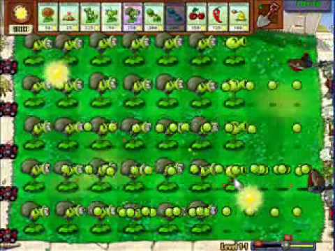 Plants vs Zombies - That a lotta peas! - YouTube