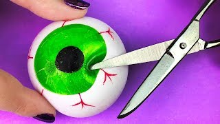 Cutting Open Viral HALLOWEEN Squishies  from HelloMaphie