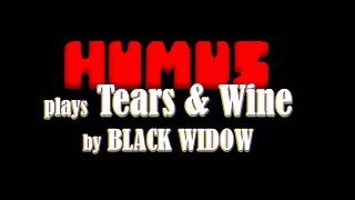 "BLACK WIDOW  ""Tears & Wine"" as performed by HUMUS"