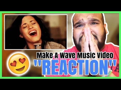 Demi Lovato & Joe Jonas - Make A Wave Music Video [REACTION]