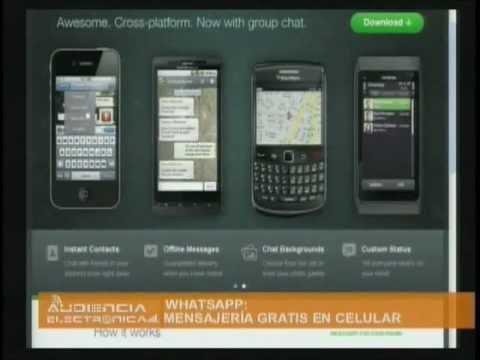 Aplicación Whatsapp para Mensajería Gratis En Celular