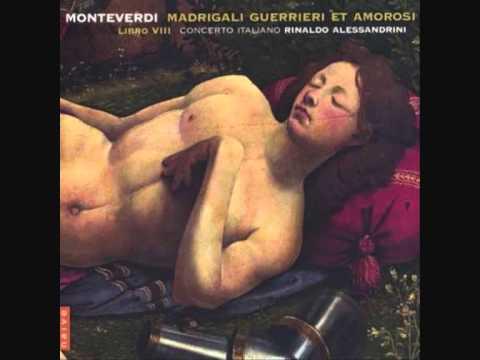 Монтеверди Клаудио - Non partir, ritrosetta