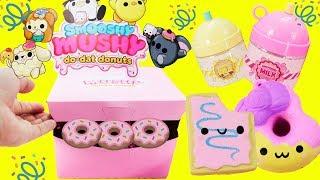 SMOOSHY MUSHY Series 2 Do-Dat Donuts New SQUISHIES!