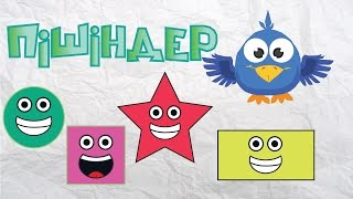 Пішіндер | Shapes Song | Фигуры  [Torghai-TV]
