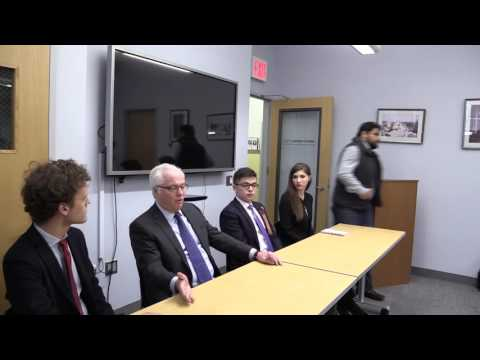 NYU Model United Nations | A discussion with Ambassador Vitaly Churkin