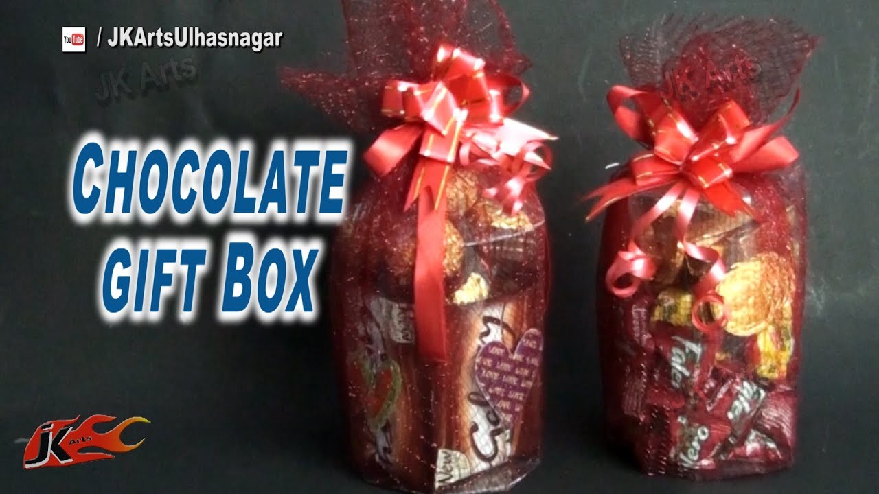 DIY chocolate gift box from OHP Sheet | Valentine