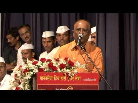 Dr  Ashok Khade Speech Mumbai Dabbawala@125