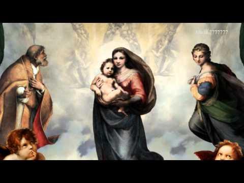 Sistine Madonna (Raphael) - 3D