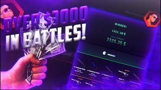 Over 3000$ in Battles! EVERYDAY Daily uploads #01