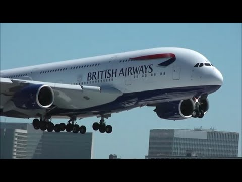 Busy day planespotting at los angeles international airport lax 55