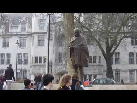 Mahatama Gandhi's Statue Unveiled in Parliament Square