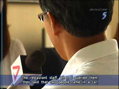 Yet another Singaporean lost his car in Johor Bahru - 16Oct2011