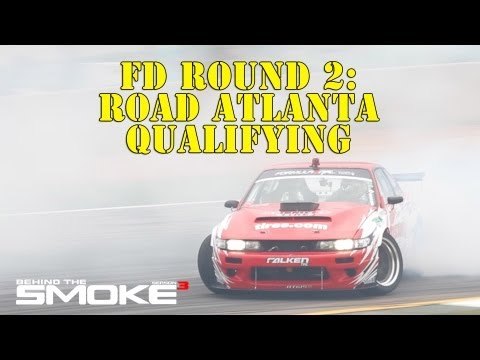 Formula Drift Round 2 - Road Atlanta Qualifying - BTS3 - Daijiro Yoshi