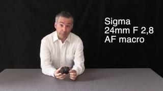 Sigma 24mm F 2,8 AF macro lens review - Stefano Medici - i video di Foto Art