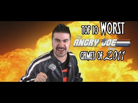 Top 10 WORST Games 2011! Music Videos