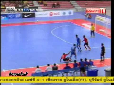 Thailand Vs Timor Leste [19-1] AFF Futsal Championship 2012