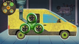 Normal Van Car Wash | Children Videos For Kids And Baby | Fun Car Compilation