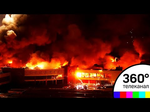 МЧС: сгоревшая Синдика может обрушиться
